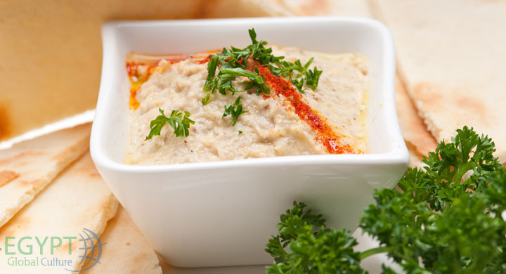 Baba Ghanoush - Typical Egyptian Food